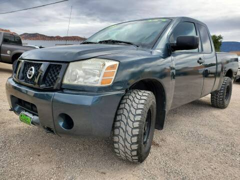 2004 Nissan Titan for sale at Canyon View Auto Sales in Cedar City UT