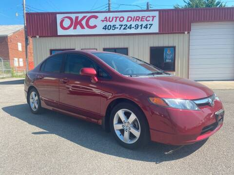 2008 Honda Civic for sale at OKC Auto Direct in Oklahoma City OK