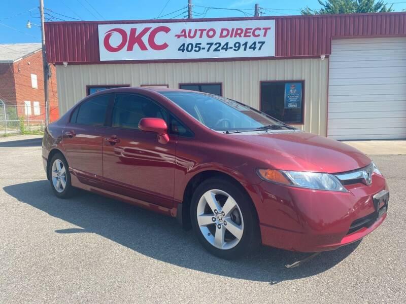 2008 Honda Civic for sale at OKC Auto Direct, LLC in Oklahoma City OK