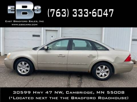 2005 Ford Five Hundred for sale at East Bradford Sales, Inc in Cambridge MN