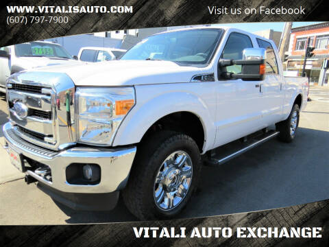 2015 Ford F-250 Super Duty for sale at VITALI AUTO EXCHANGE in Johnson City NY