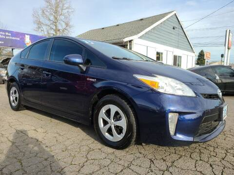 2013 Toyota Prius for sale at Universal Auto Sales in Salem OR
