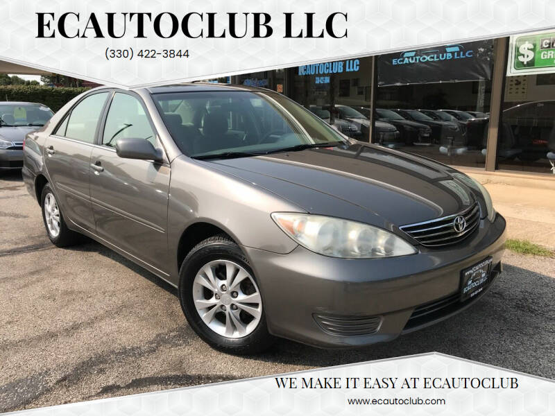2005 Toyota Camry for sale at ECAUTOCLUB LLC in Kent OH