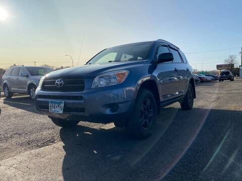 2007 Toyota RAV4 for sale at Auto Tech Car Sales and Leasing in Saint Paul MN