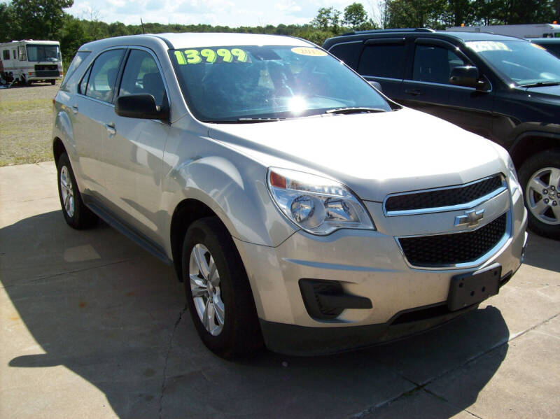 2015 Chevrolet Equinox for sale at Summit Auto Inc in Waterford PA