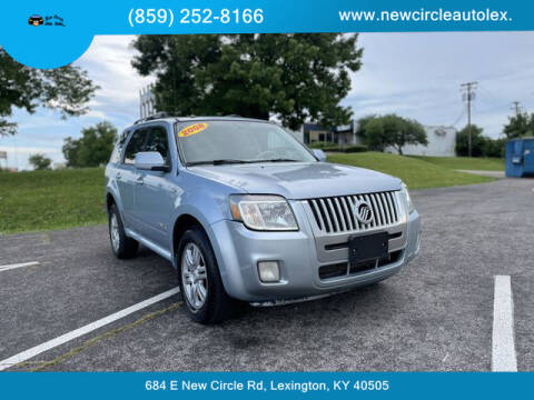 2008 Mercury Mariner for sale at New Circle Auto Sales LLC in Lexington KY