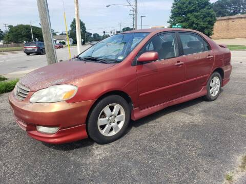 2003 Toyota Corolla for sale at Americar in Virginia Beach VA