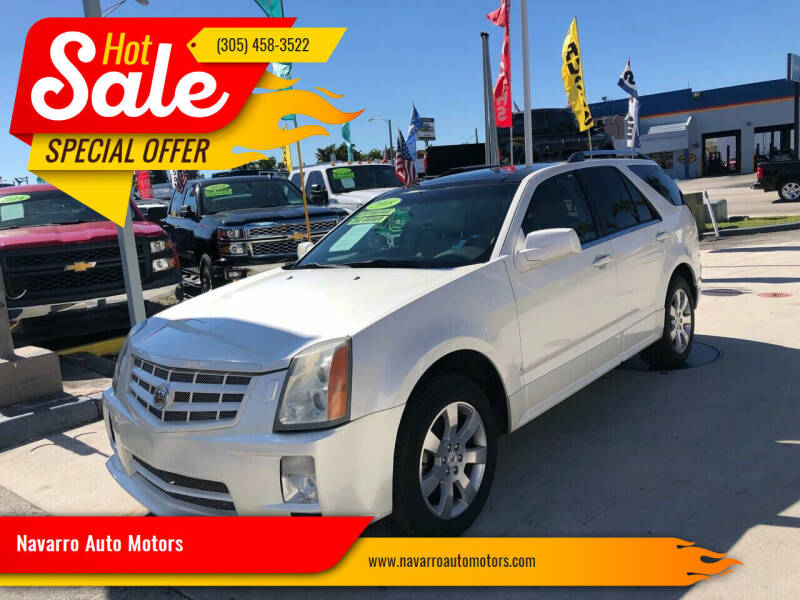2007 Cadillac SRX for sale at Navarro Auto Motors in Hialeah FL