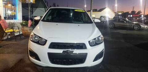 2012 Chevrolet Sonic for sale at ANYTHING ON WHEELS INC in Deland FL