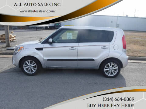 2012 Kia Soul for sale at ALL Auto Sales Inc in Saint Louis MO