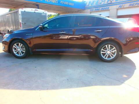 2014 Kia Optima for sale at Under Priced Auto Sales in Houston TX