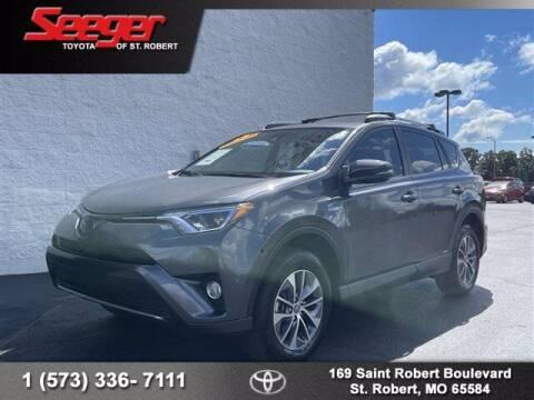 2018 Toyota RAV4 Hybrid for sale at SEEGER TOYOTA OF ST ROBERT in Saint Robert MO