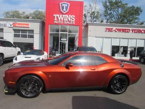 2021 Dodge Challenger for sale at Twins Auto Sales Inc in Detroit MI