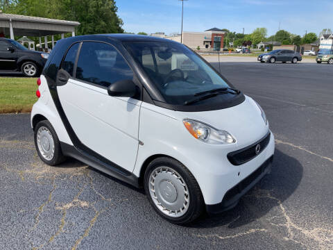 2015 Smart fortwo for sale at McCully's Automotive - Under $10,000 in Benton KY