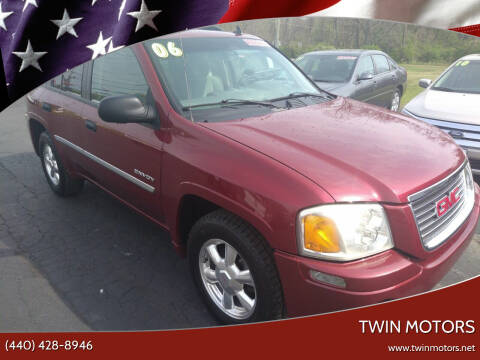2006 GMC Envoy for sale at TWIN MOTORS in Madison OH