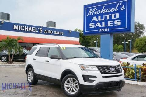 2017 Ford Explorer for sale at Michael's Auto Sales Corp in Hollywood FL
