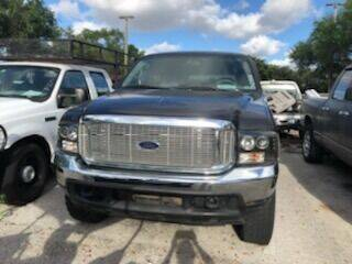 2001 Ford Excursion for sale at DAN'S DEALS ON WHEELS AUTO SALES, INC. in Davie FL