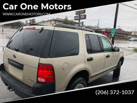 2005 Ford Explorer for sale at Car One Motors in Seattle WA