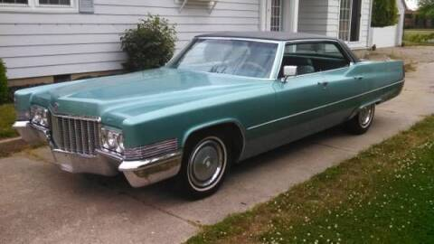 1970 Cadillac DeVille for sale at Haggle Me Classics in Hobart IN