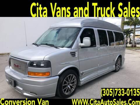 2014 GMC SAVANA 1500 CONVERSION VAN for sale at Cita Auto Sales in Medley FL
