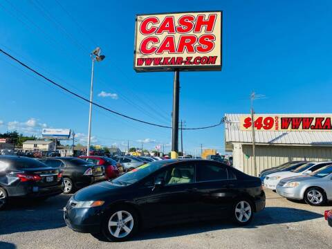 2006 Honda Civic for sale at www.CashKarz.com in Dallas TX