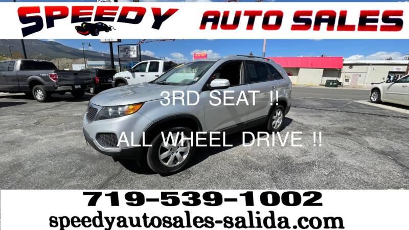 2013 Kia Sorento for sale at SPEEDY AUTO SALES Inc in Salida CO