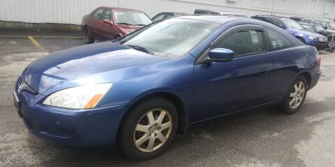 2005 Honda Accord for sale at JG Motors in Worcester MA
