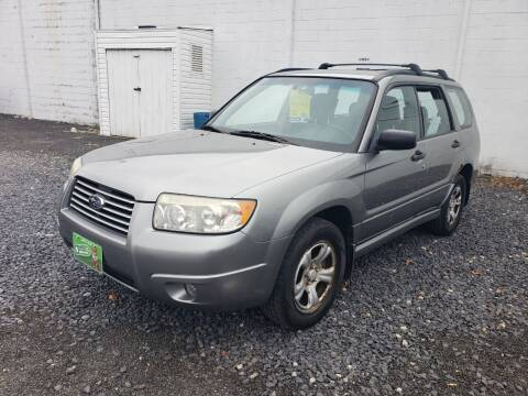 2007 Subaru Forester for sale at CRS 1 LLC in Lakewood NJ