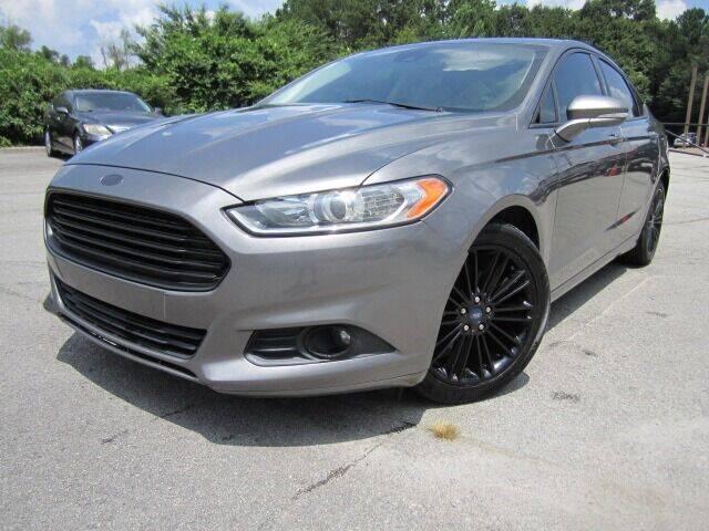 2014 Ford Fusion for sale at Atlanta Luxury Motors Inc. in Buford GA