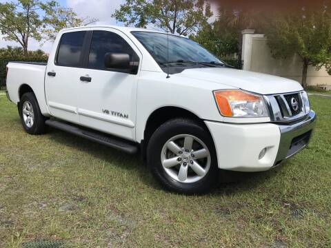 2014 Nissan Titan for sale at Kaler Auto Sales in Wilton Manors FL