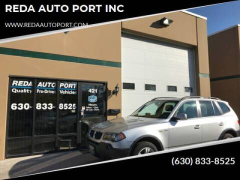 2005 BMW X3 for sale at REDA AUTO PORT INC in Villa Park IL