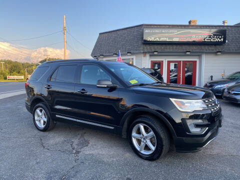 2016 Ford Explorer for sale at Maple Street Auto Center in Marlborough MA