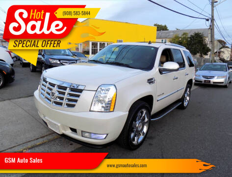 2010 Cadillac Escalade for sale at GSM Auto Sales in Linden NJ