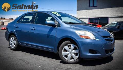 2007 Toyota Yaris for sale at Sahara Pre-Owned Center in Phoenix AZ