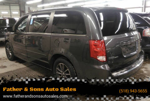 2017 Dodge Grand Caravan for sale at Father & Sons Auto Sales in Leeds NY
