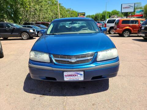 2003 Chevrolet Impala for sale at Gordon Auto Sales LLC in Sioux City IA