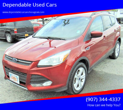 2016 Ford Escape for sale at Dependable Used Cars in Anchorage AK