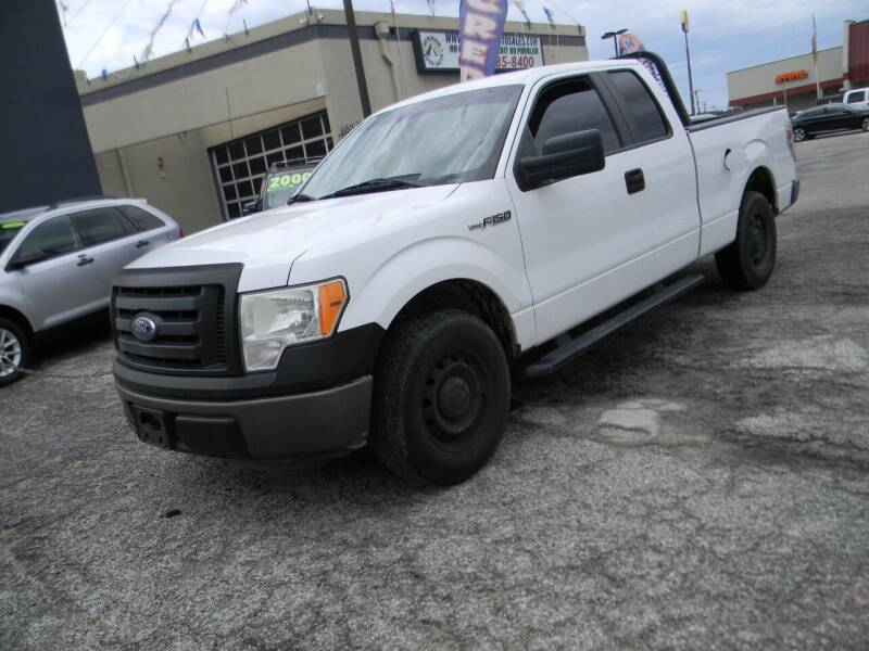 2011 Ford F-150 for sale at Meridian Auto Sales in San Antonio TX