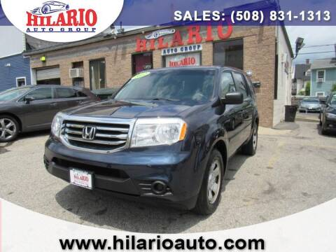 2012 Honda Pilot for sale at Hilario's Auto Sales in Worcester MA