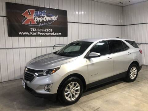 2018 Chevrolet Equinox for sale at Karl Pre-Owned in Glidden IA