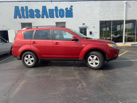 2008 Mitsubishi Outlander for sale at Atlas Auto in Rochelle IL