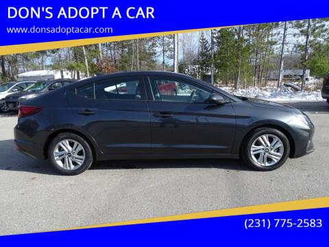 2020 Hyundai Elantra for sale at DON'S ADOPT A CAR in Cadillac MI