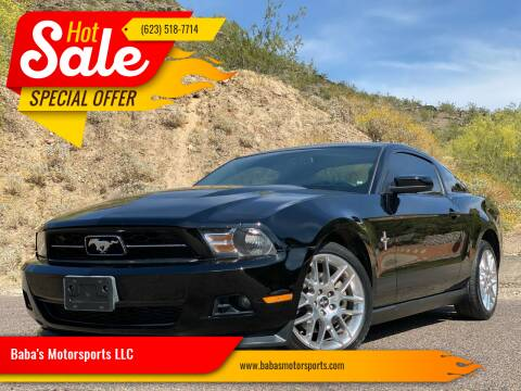 2012 Ford Mustang for sale at Baba's Motorsports, LLC in Phoenix AZ