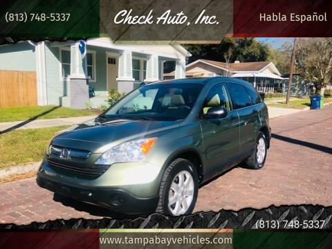 2008 Honda CR-V for sale at CHECK AUTO, INC. in Tampa FL