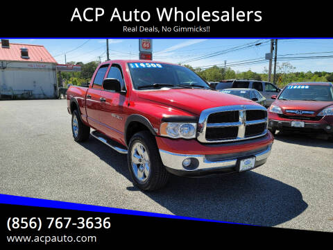 2005 Dodge Ram Pickup 1500 for sale at ACP Auto Wholesalers in Berlin NJ