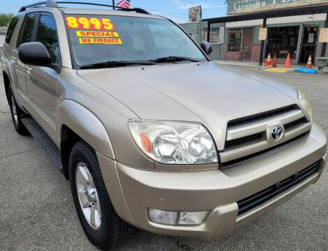 2004 Toyota 4Runner for sale at ZOOM CARS LLC in Sylmar CA