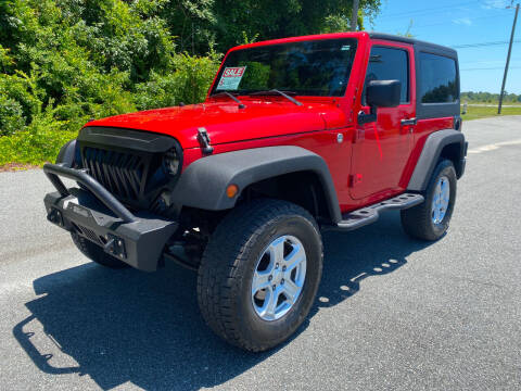 2013 Jeep Wrangler for sale at Autoteam of Valdosta in Valdosta GA