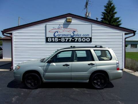 2006 Subaru Forester for sale at CARSMART SALES INC in Loves Park IL