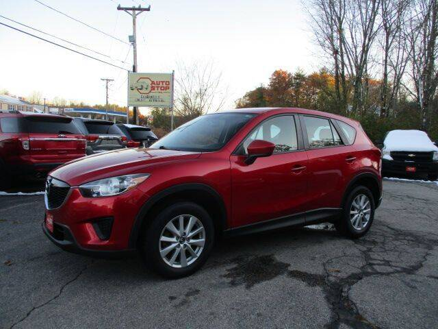 2014 Mazda CX-5 for sale at AUTO STOP INC. in Pelham NH