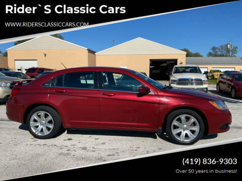 2011 Chrysler 200 for sale at Rider`s Classic Cars in Millbury OH